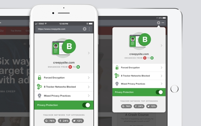 DuckDuckGo adds tracker blocking to help curb the wider