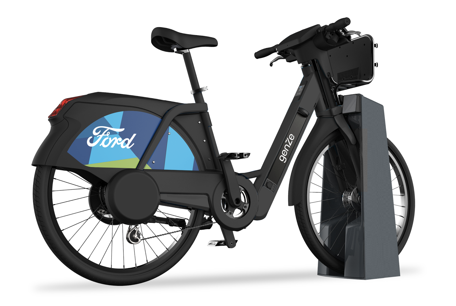 Ford gobikes are going electric in san francisco techcrunch for Go e bike motor