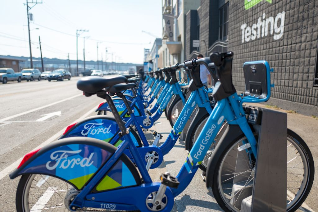 ford gobikes are going electric in san francisco techcrunch. Black Bedroom Furniture Sets. Home Design Ideas
