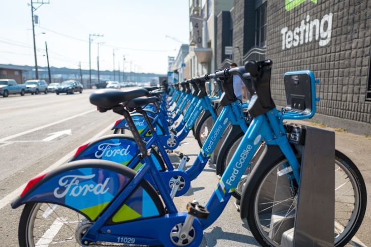 Motivate The Company Behind San Francisco Yay Bay Area S Bike Share System Is Adding Pedal Ist E Bikes To Its Fleets This April