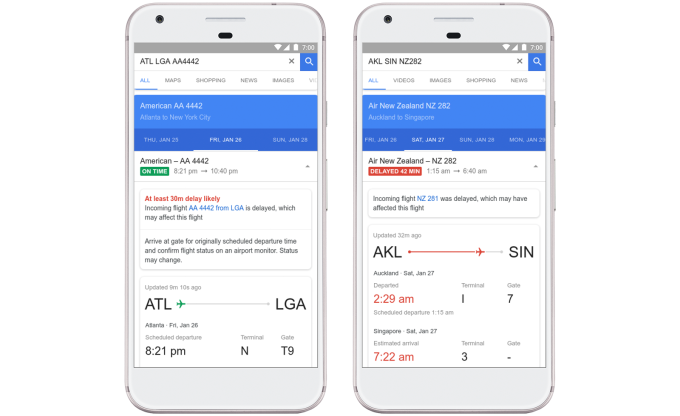 Google Flights will now predict airline delays – before the airlines