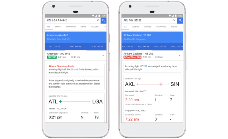 google flights will now predict airline delays before the airlines
