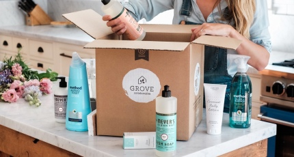 Grove Collaborative, a subscription startup selling 'household
