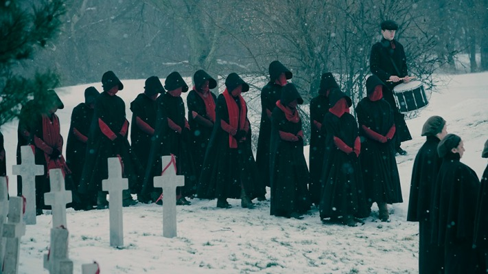 Original Content podcast: 'The Handmaid's Tale' is even more intense in season two handmaidstale1