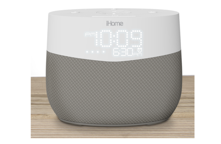 iHome debuts a Google Assistant-powered clock radio, the