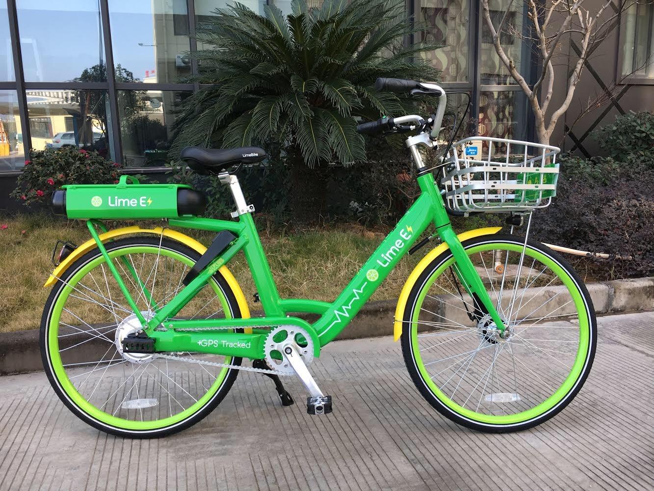 Limebike Unveils Pedal Assist E Bikes Techcrunch