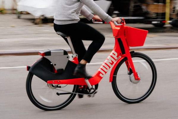 Uber's JUMP bikes are seeing high utilization rates thumbnail