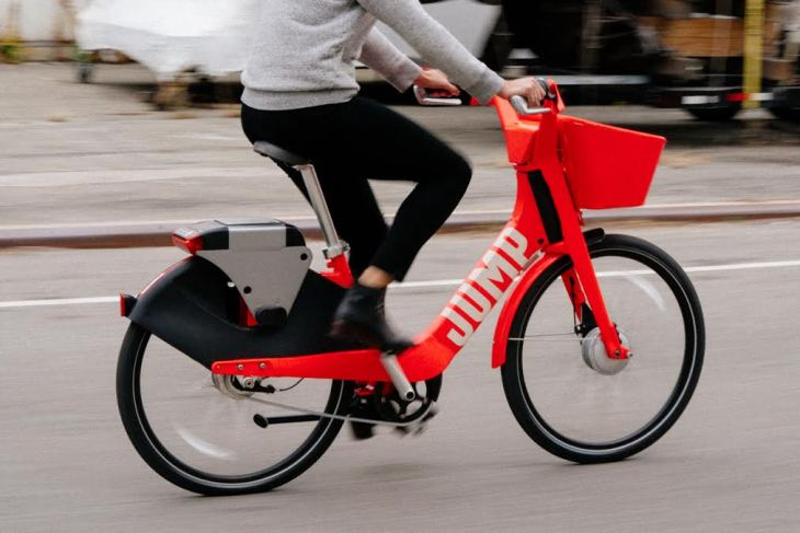 724f5330044 Social Bicycles, maker of the Jump pedal-assist e-bikes that don't require  docking stations, has received a permit from the San Francisco Municipal ...