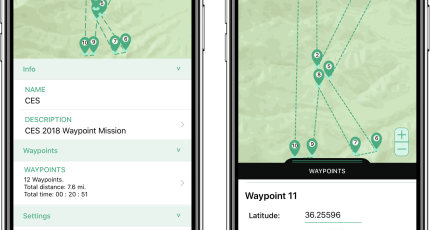 Kittyhawk adds automated multi-waypoint flights to its drone-control