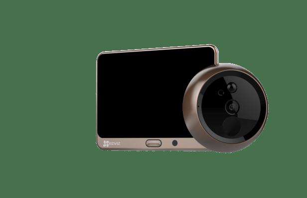 EZVIZ's 'Lookout Smart Door Viewer' turns a peephole into a