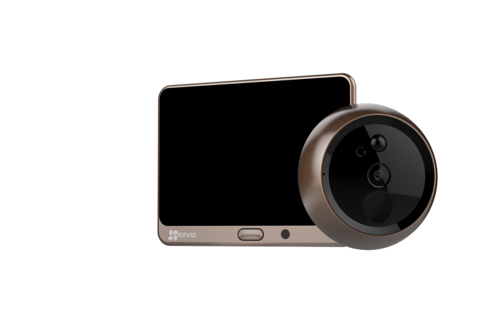 EZVIZ's 'Lookout Smart Door Viewer' turns a peephole into a