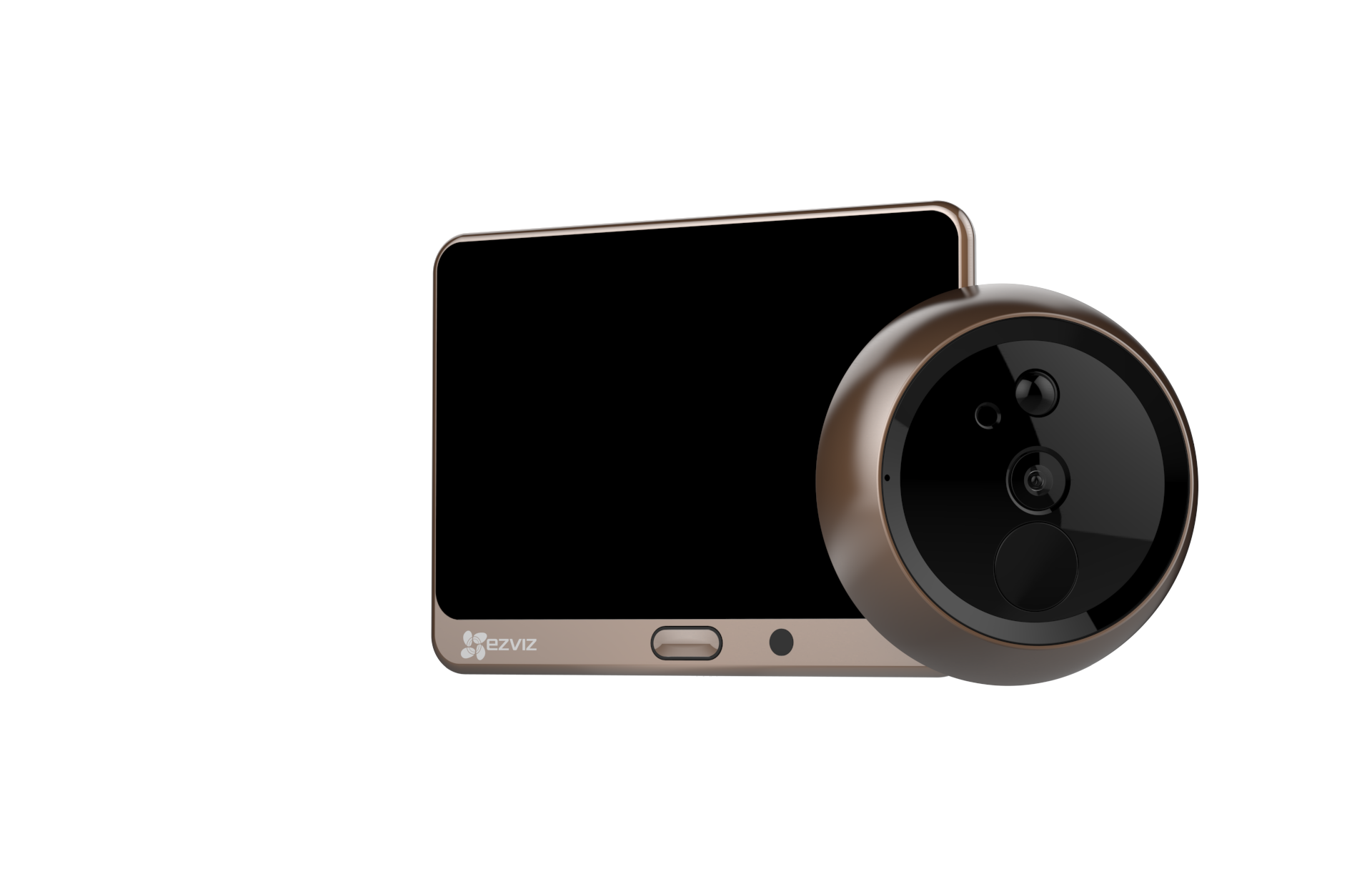 EZVIZu0027s U0027Lookout Smart Door Vieweru0027 Turns A Peephole Into A Smart Video  Doorbell