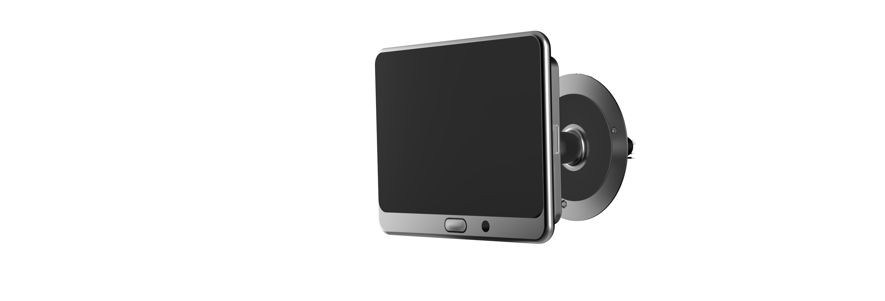 ... two-part smart home door entry video solution that allows homeowners to remotely view activity taking place outside the home while also offering the ...  sc 1 st  TechCrunch & EZVIZu0027s u0027Lookout Smart Door Vieweru0027 turns a peephole into a smart ...