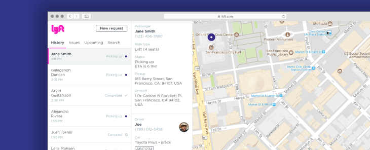 lyft concierge its ride booking service for businesses opens to