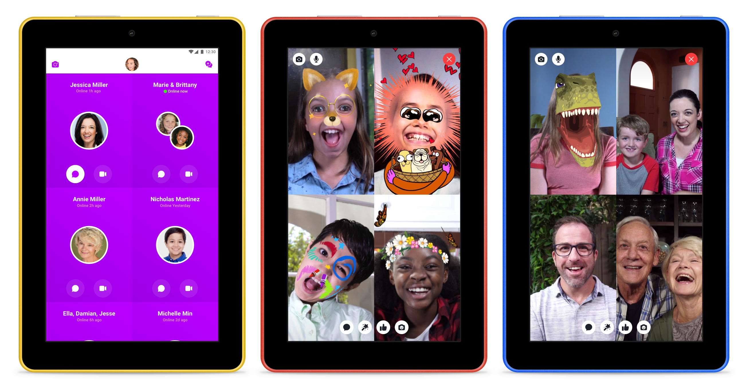 Kindle Fire Parental Controls >> Facebook brings Messenger Kids to Fire tablets – TechCrunch
