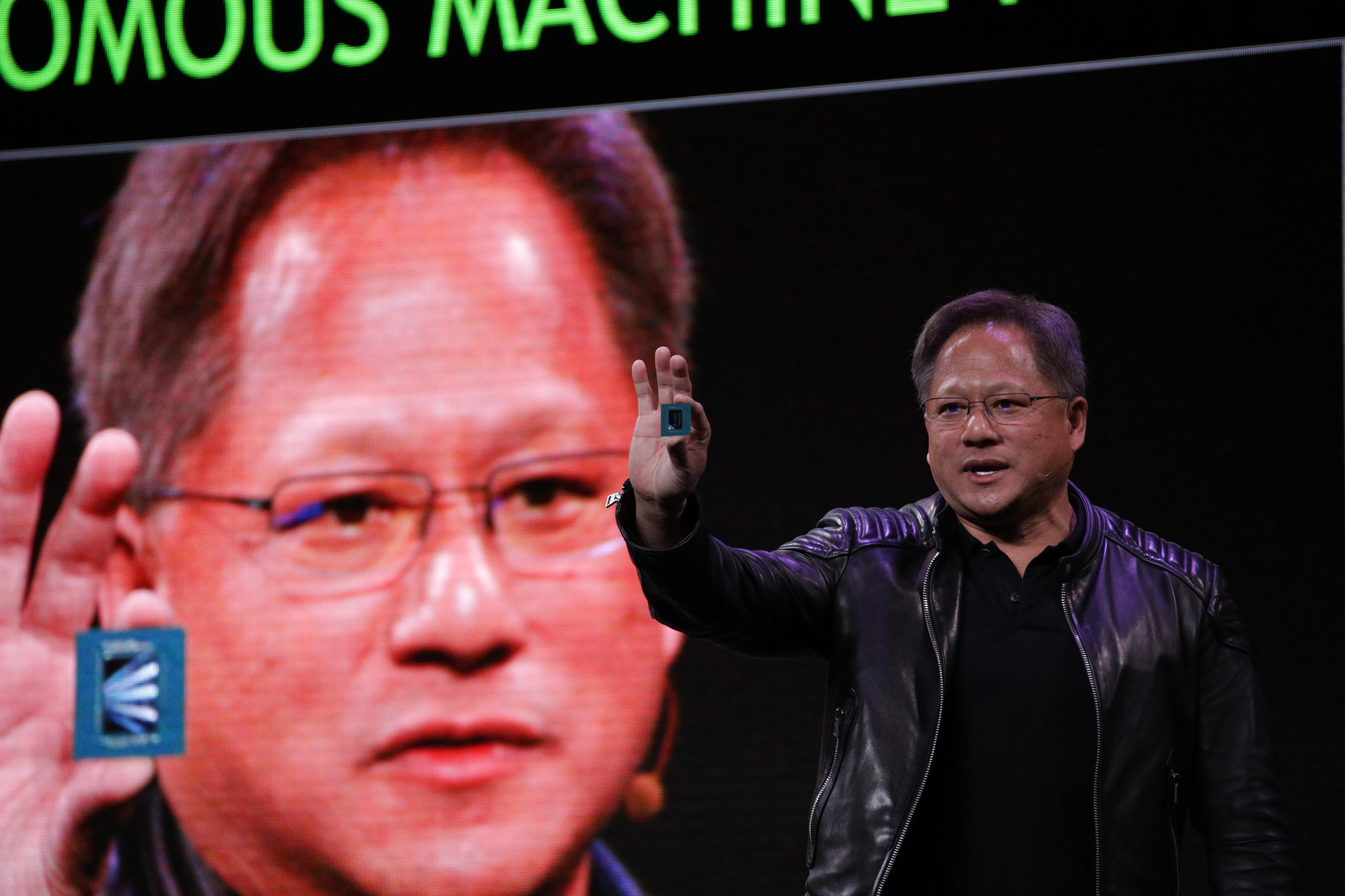 Nvidia CEO: Uber crash will spur more self-driving vehicle  investment