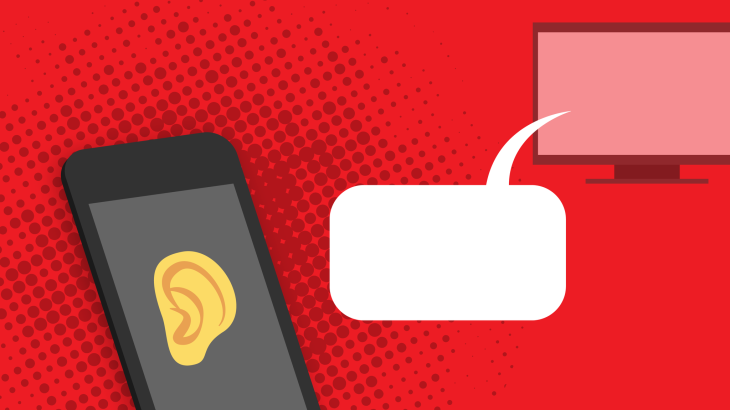 Some apps were listening to you through the smartphone's mic