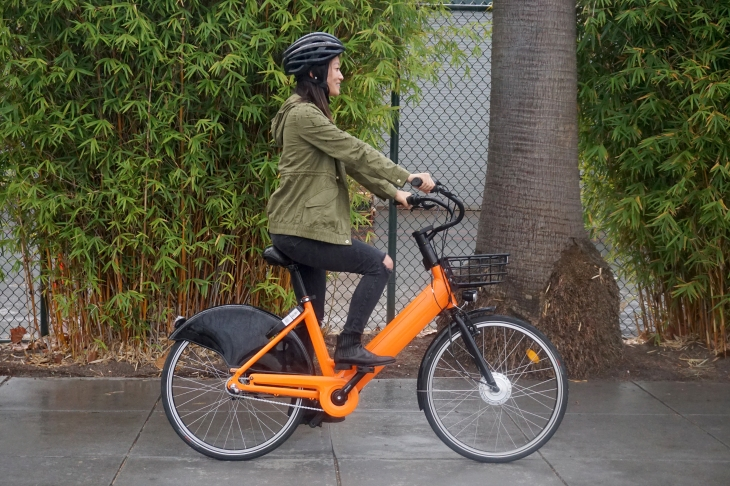 Spin unveils its stationless electric bike | TechCrunch