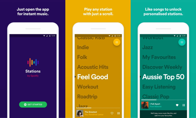 Spotify is testing a new playlist-based music app that's a lot like