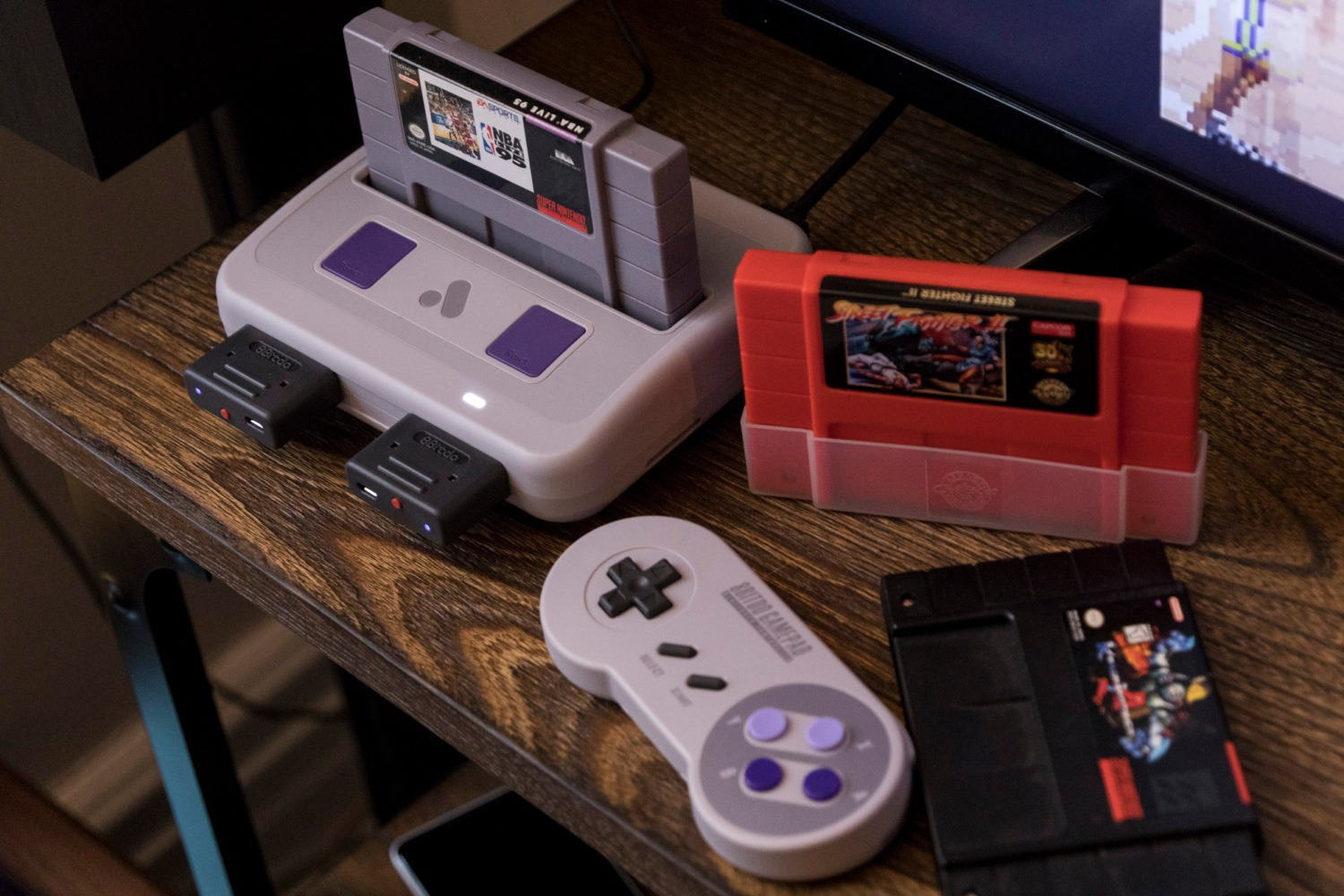 Play SNES classics in the HD resolution of memory with the Super Nt