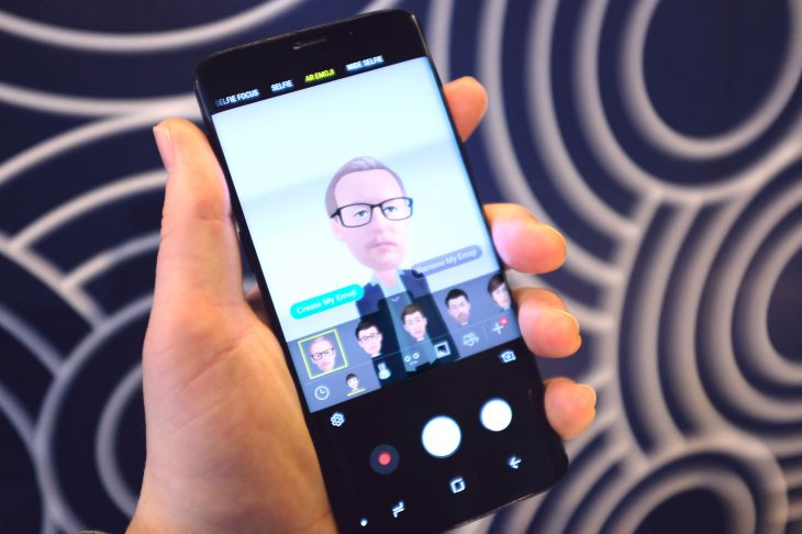 Samsung's AR Emoji taps creepy avatars and Disney characters
