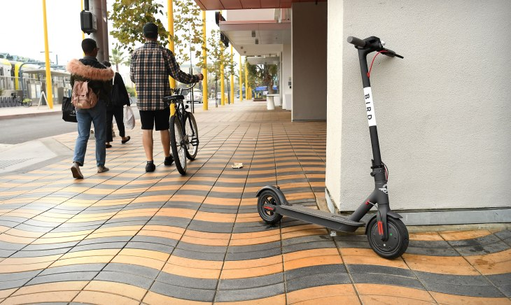 Bird Is Raising 100 Million To Become The Uber Of Electric Scooters