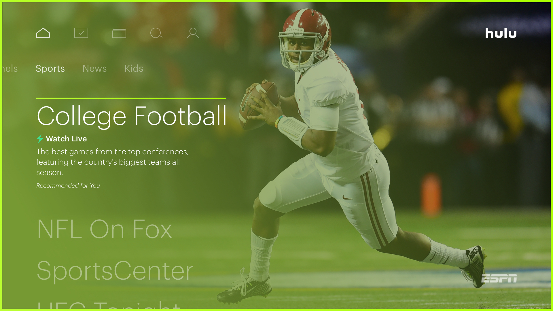 Hulu Rolls Out Support For 60fps A Top Request From Sports Fans Techcrunch