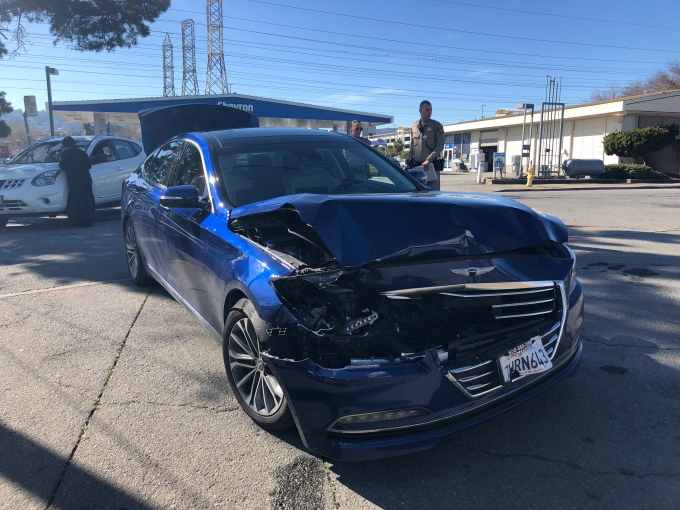 We Were In An Accident During An Automated Driving Tech Demo