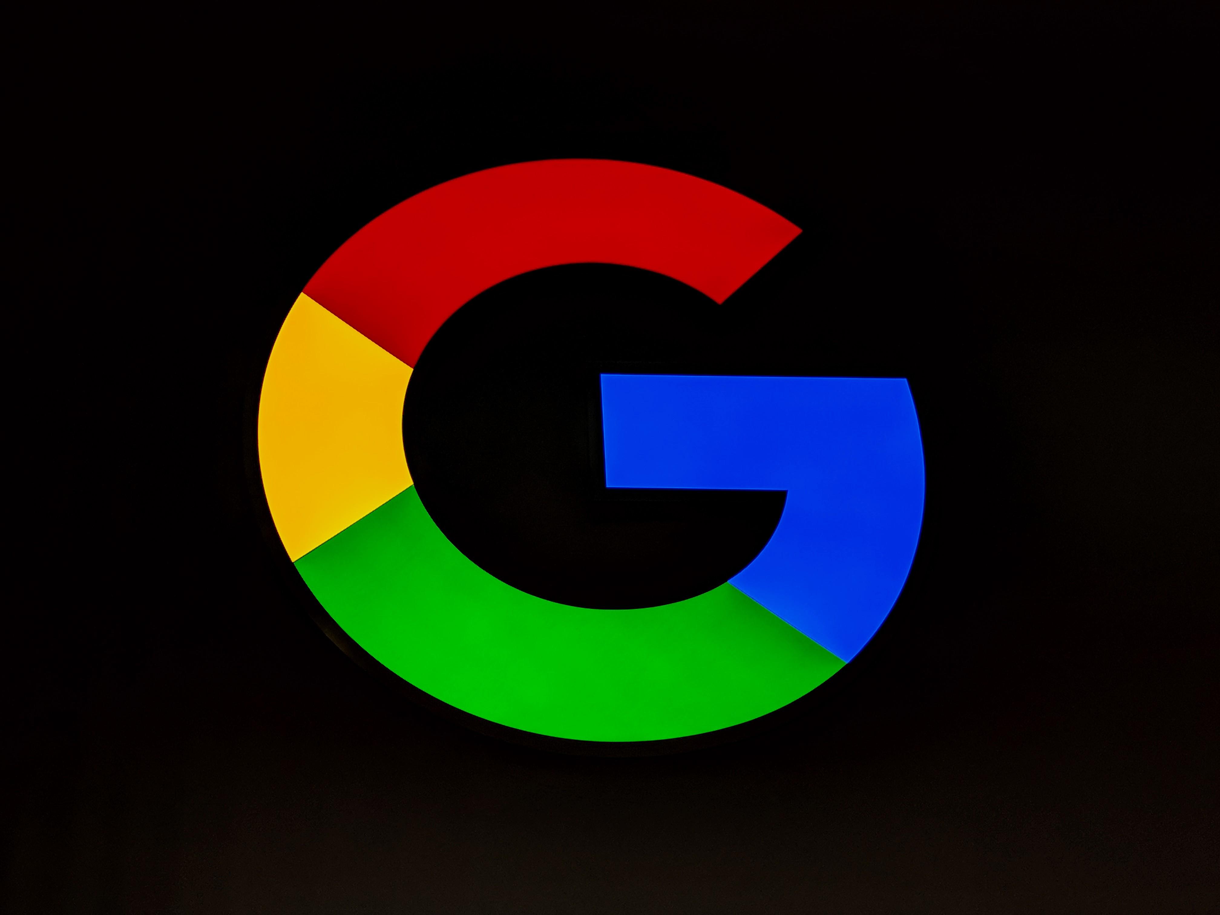 Captivating Google Logo