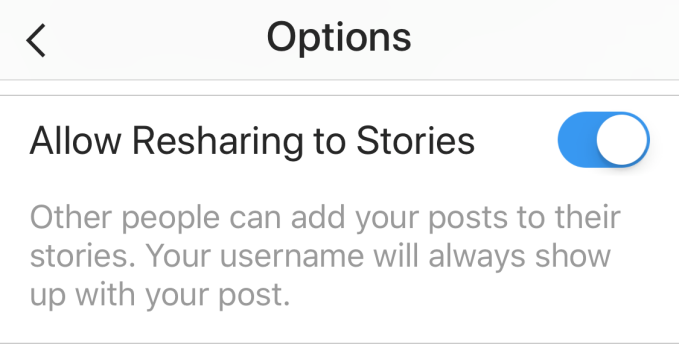Instagram tests resharing of others' posts to your Story | TechCrunch