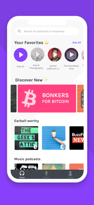 Anchor's new app offers everything you need to podcast | TechCrunch
