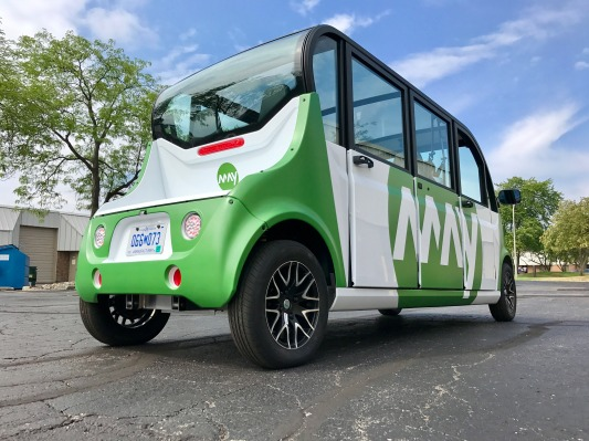 Autonomous shuttle startup May Mobility expands to a third U.S. city