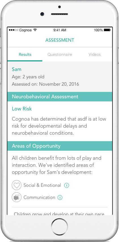 Cognoas Ai Platform For Autism >> Cognoa S Ai Platform For Autism Diagnosis Gets First Fda Stamp