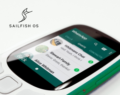 Sailfish v3 sets its sights on 4G feature phones