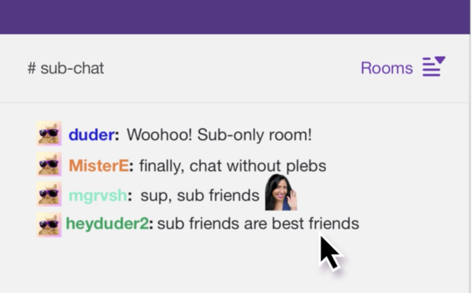 Rooms only chat #1 Chatiw