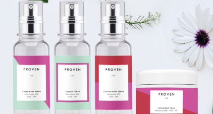 Proven wants to sell AI distilled custom skincare   TechCrunch