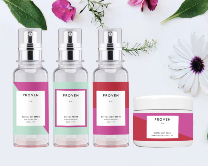 Proven wants to sell AI distilled custom skincare | TechCrunch