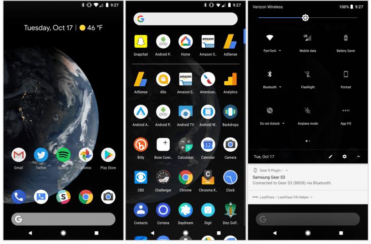 android dark mode ile ilgili görsel sonucu