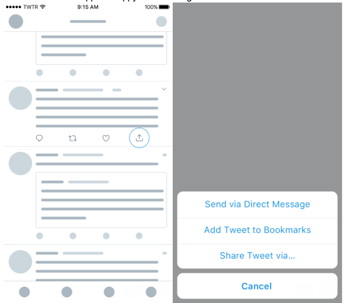 Twitter launches Bookmarks, a private way to save tweets