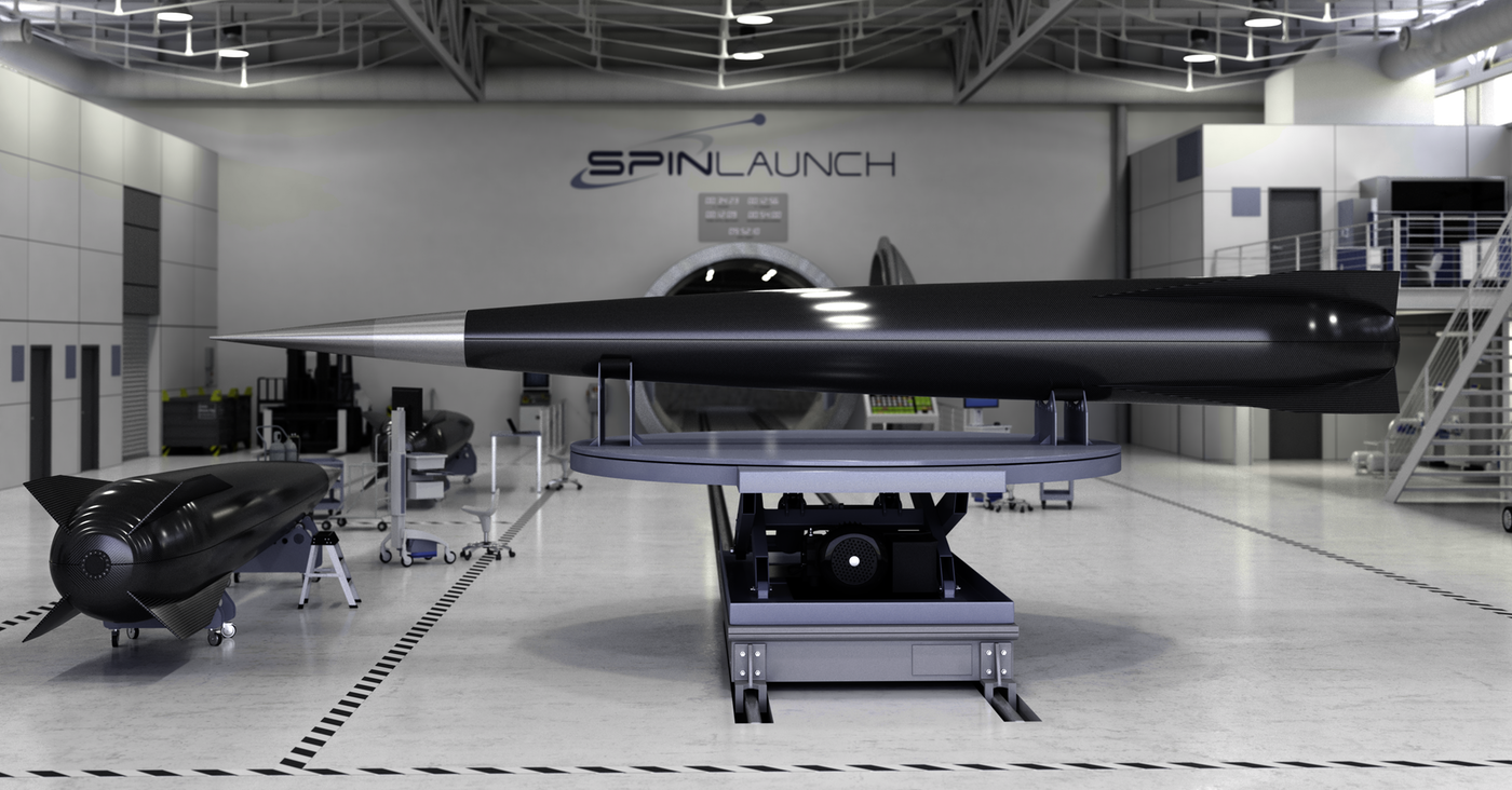 Stealth space catapult startup SpinLaunch is raising $30M | TechCrunch