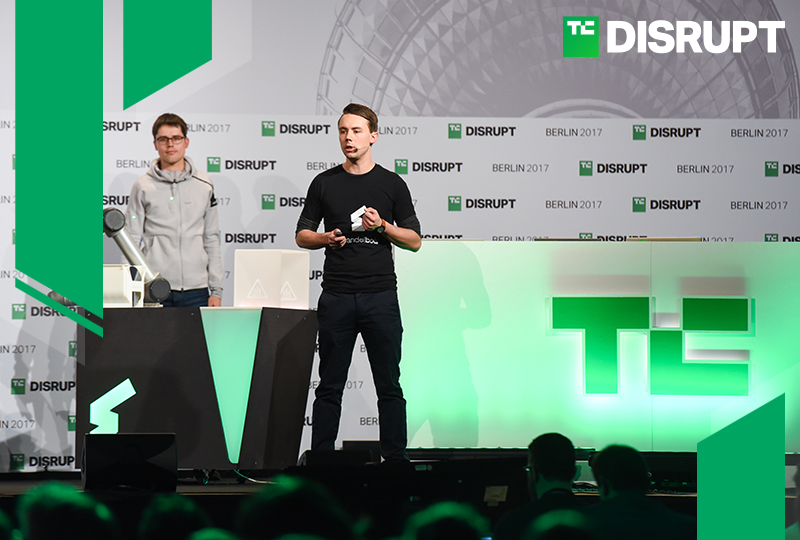 Launch with TechCrunch in the Startup Battlefield competition at Disrupt SF 2018