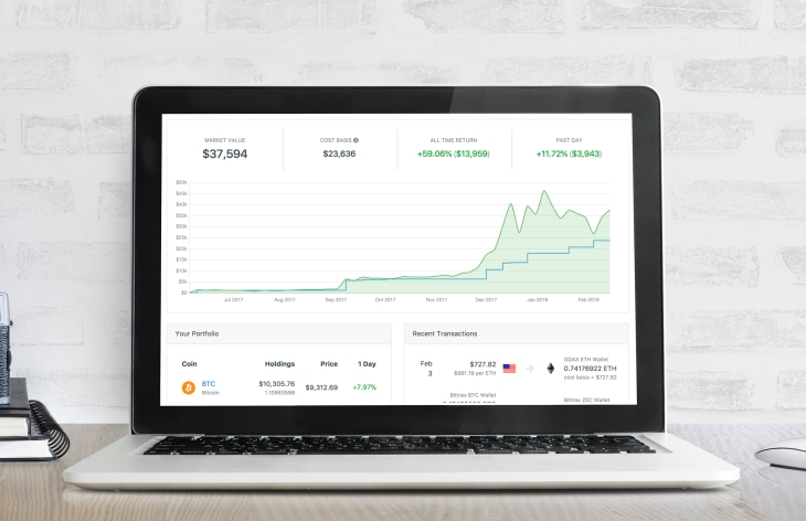 CoinTracker will keep track of your crypto as you transfer