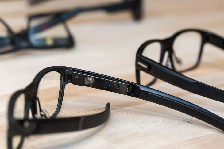 a few months after their flashy online debut the vaunt smart glasses are dead