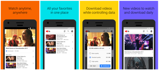 Google's data-friendly app YouTube Go expands to over 130