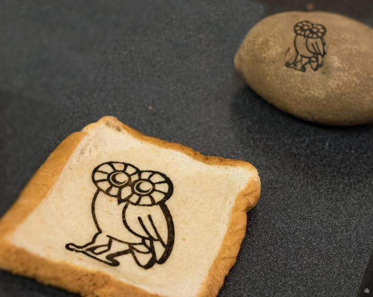 Graphene based edible electronics will let you make cereal circuits researchers at the have successfully etched edible circuits onto the surface of food paving the way for rfid tagged edibles that can help us track food ccuart Image collections