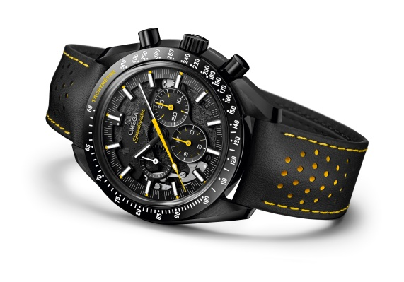 Omega takes us to the Dark Side with their new moonwatch 1