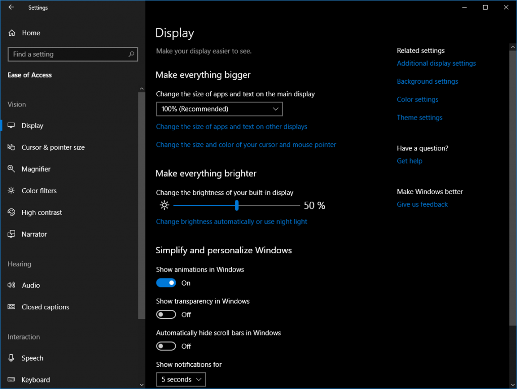 Microsoft is adding a bunch of accessibility features to Windows 10