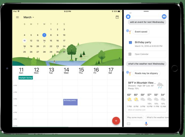 Google Assistant arrives on iPad | TechCrunch
