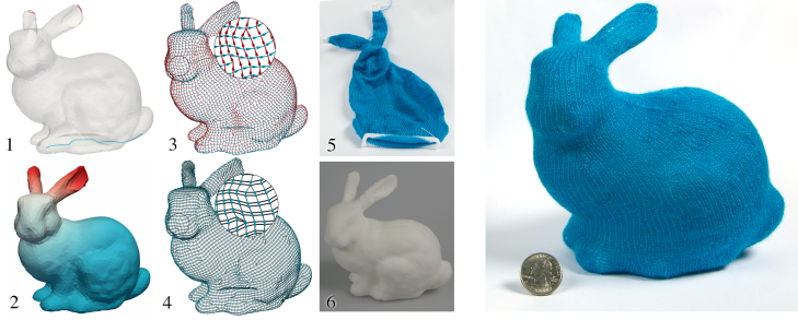 Knitting Machines Power Up With Computer Generated Patterns For 3d