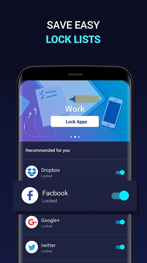 An app to lock photos